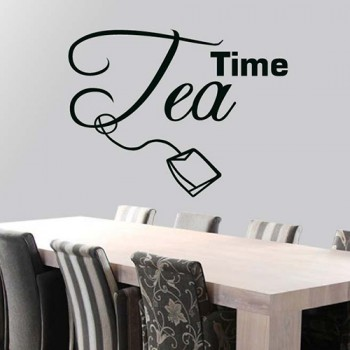 Tekststicker Tea Time