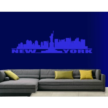 Interieursticker Skyline New York