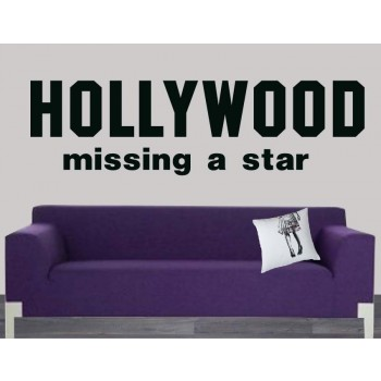 Interieursticker Hollywood