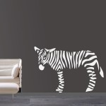 Interieursticker Zebra